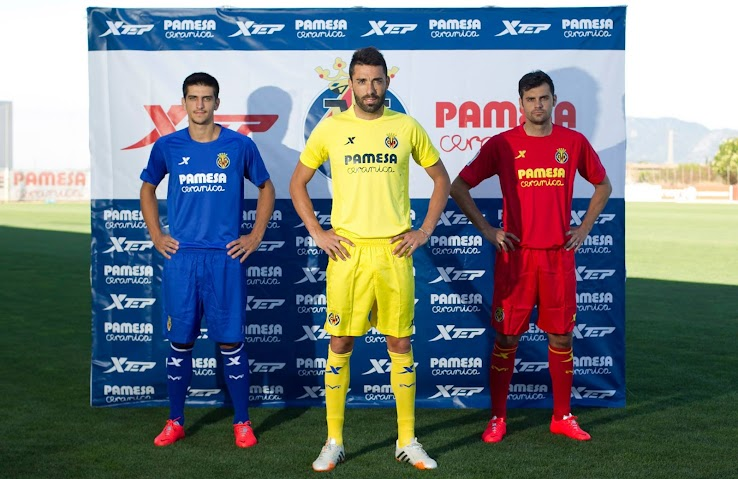 Xtep Villarreal 14-15 Kits Released