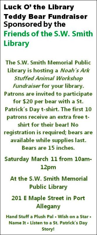 3-11 Luck O' The Library Port Allegany