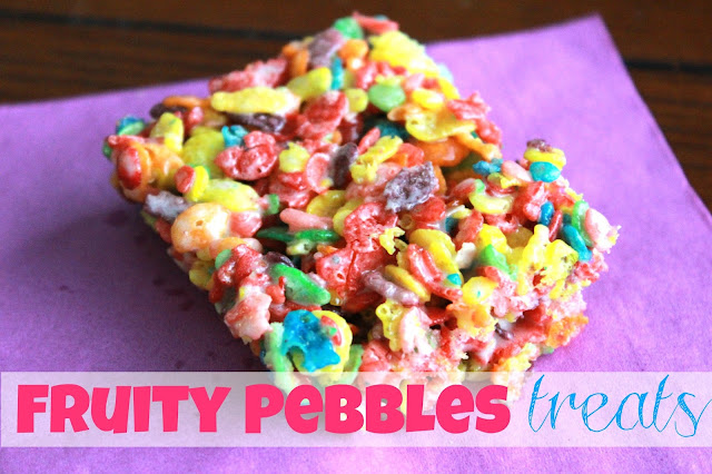 Simply Made...with Love: Fruity Pebbles Treats