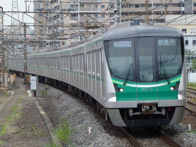 東京メトロ千代田線 我孫子行き4 16000系