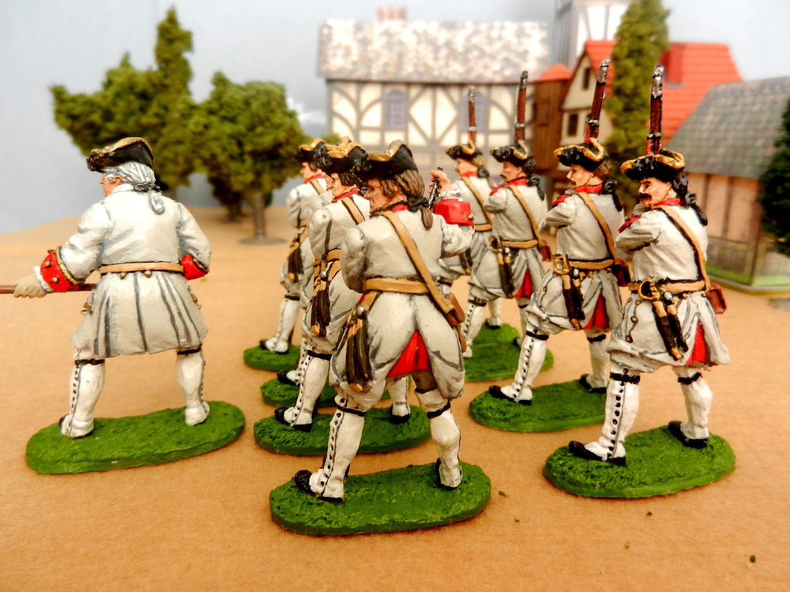 Painting Soft Plastic   Soldiers With Acrylics