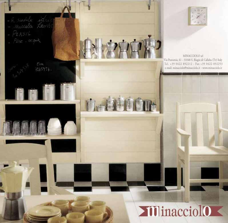 Desain Interior Ruang Dapur Bergaya Italia Dari Minacciolo