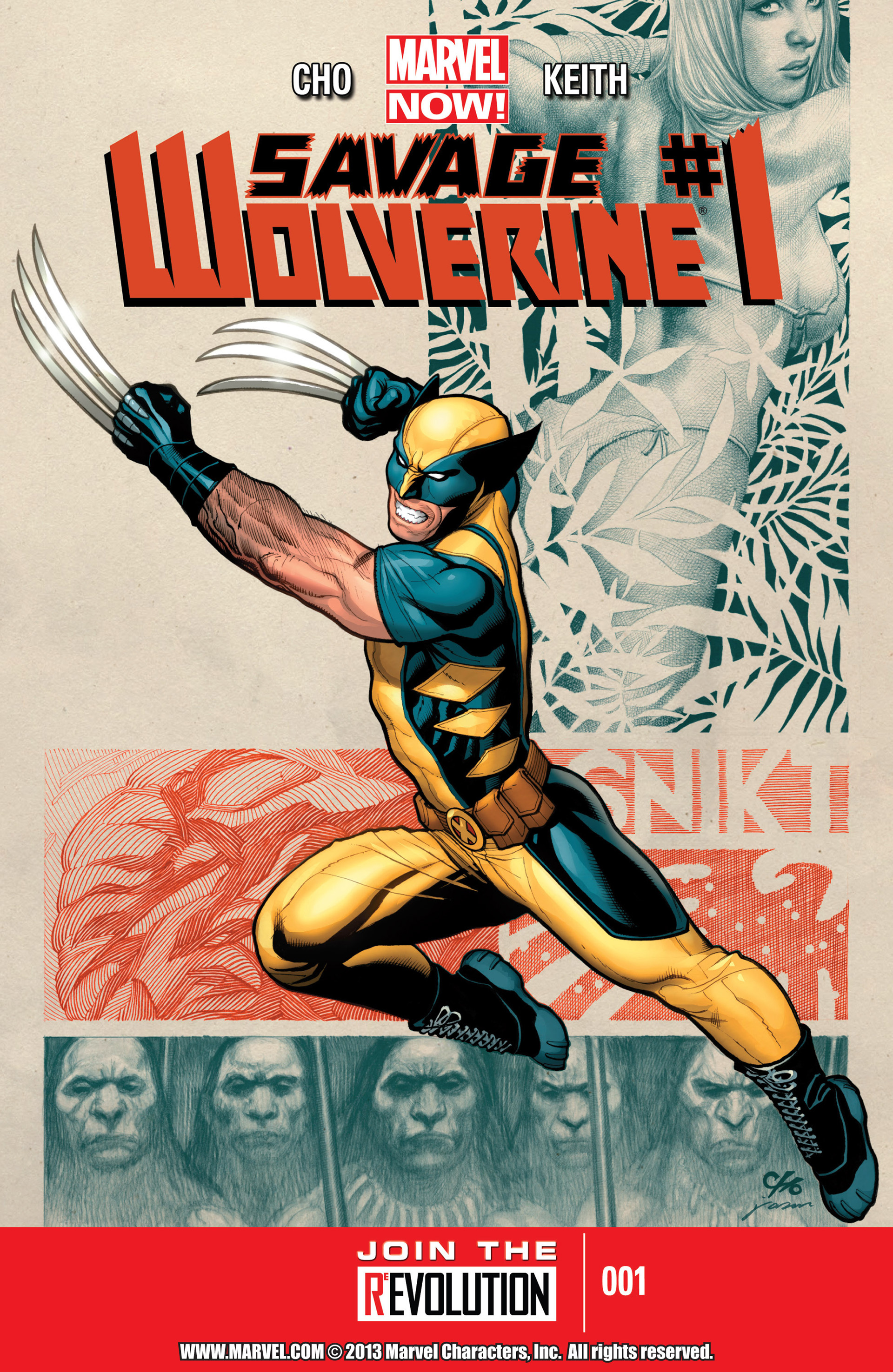 Savage Wolverine issue 1 - Page 1