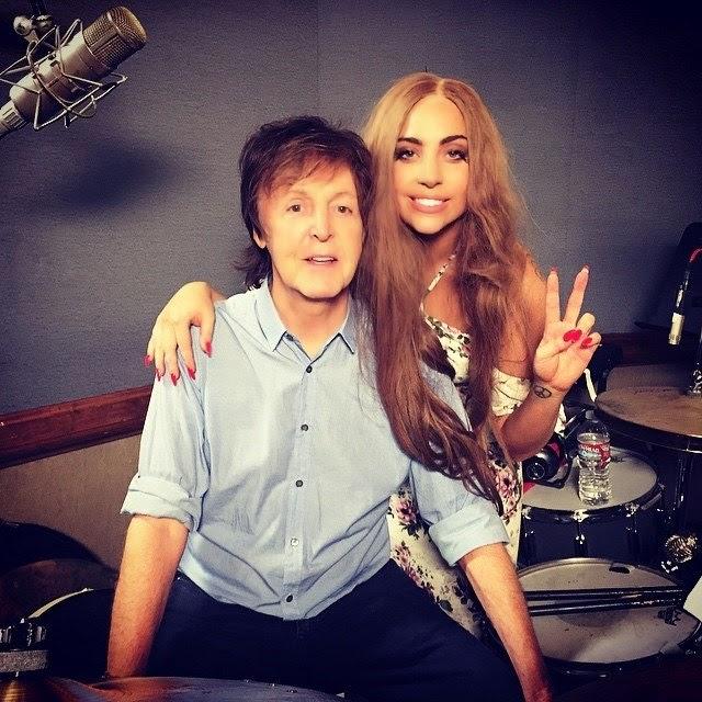 Paul McCartney y Lady Gaga