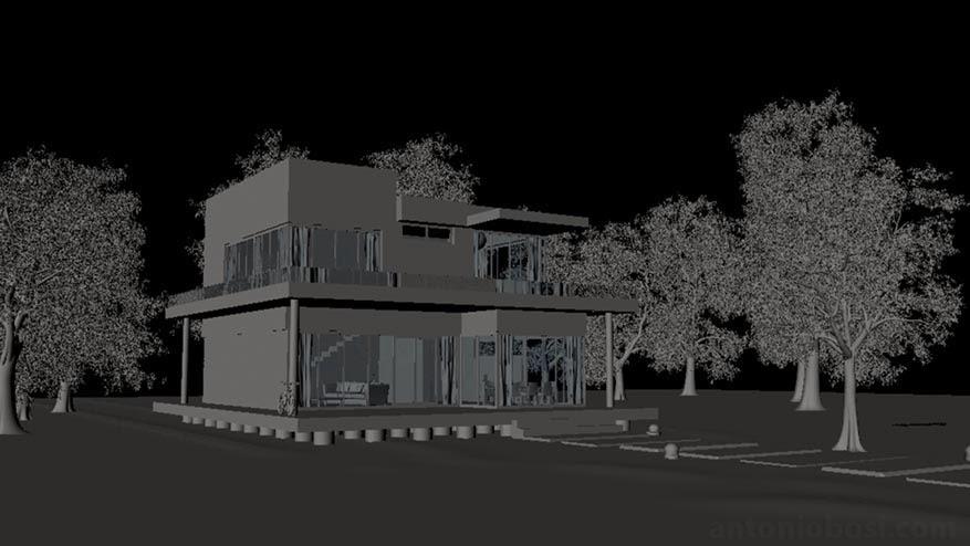 siraj belvai exterior render tutorial in maya and mental ray