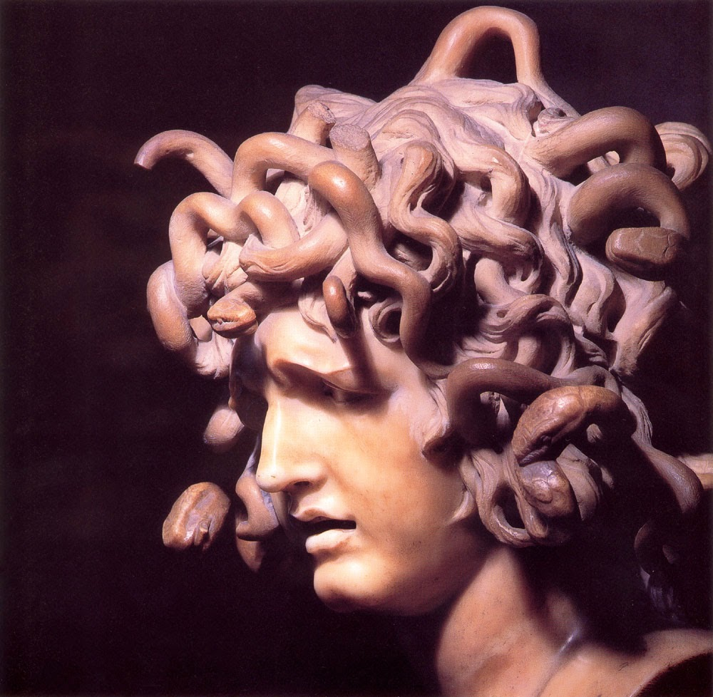 muddy colors  medusa by bernini ca