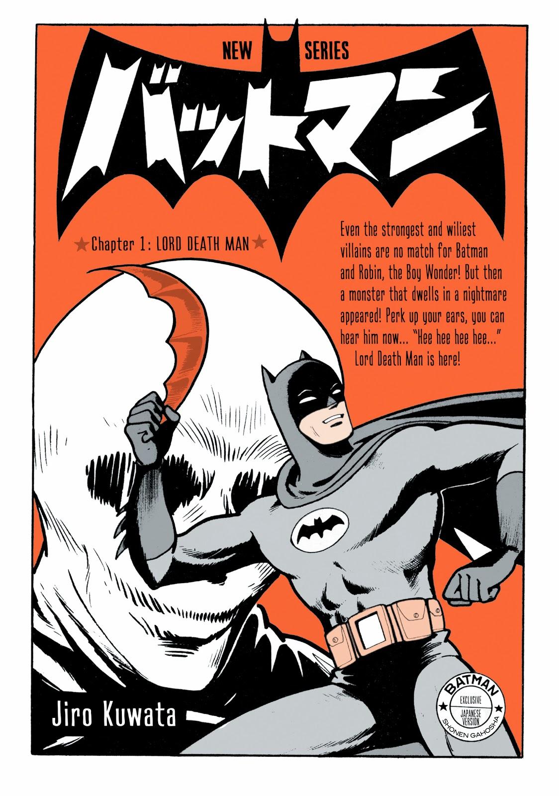 BATMAN, UN NUOVO MANGA IN PUBBLICAZIONE DALLA DC COMICS