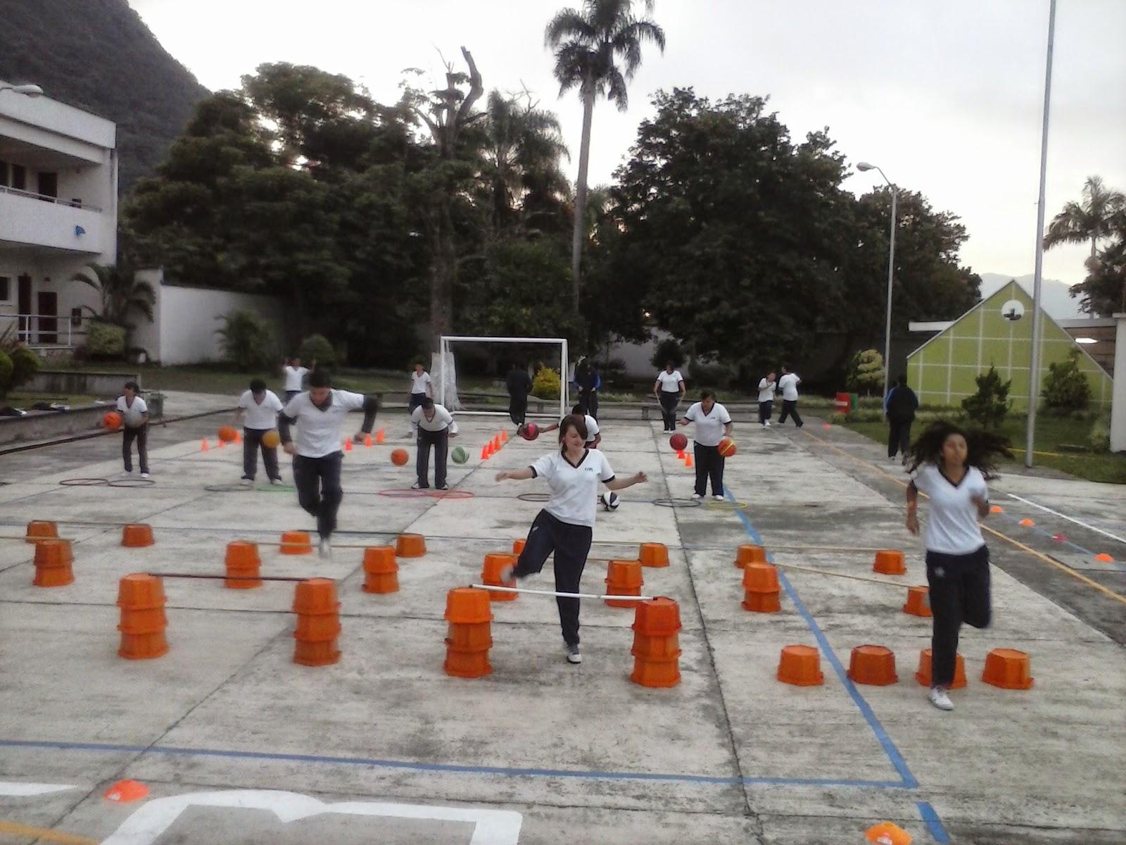 Circuito Motriz : Educación física ii circuito de acciÓn motriz