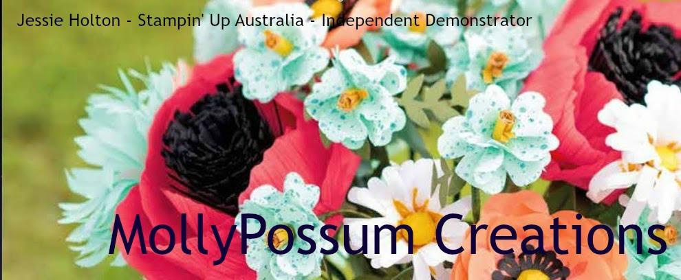 Stampin' Up! Demonstrator Australia Jessie Holton - MollyPossum Creations