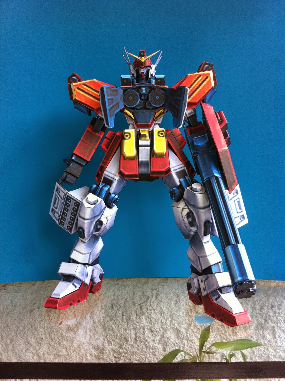 Gundam Heavyarms Papercraft
