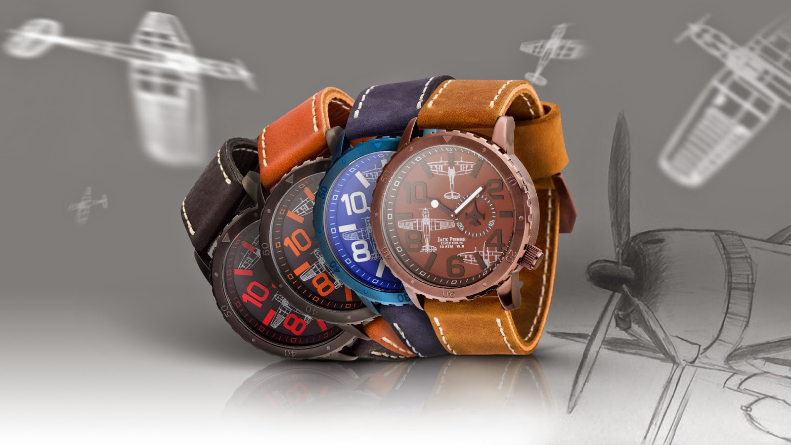A Great Collection Of Beautiful Watches- Fully Water Proof