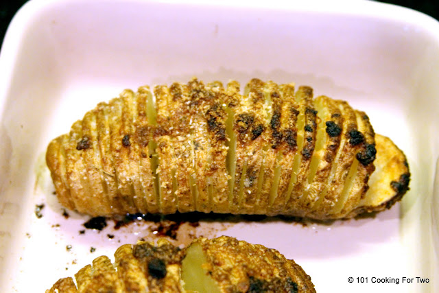 Crispy Parmesan Hasselback Potato from 101 Cooking for Two