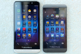 Official photo realistic of BlackBerry A10/Z30 Phablet