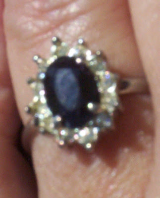 princess diana ring replica. Replica of Princess Diana#39;s,