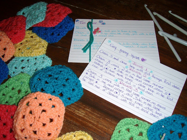 granny squares easy yarn
