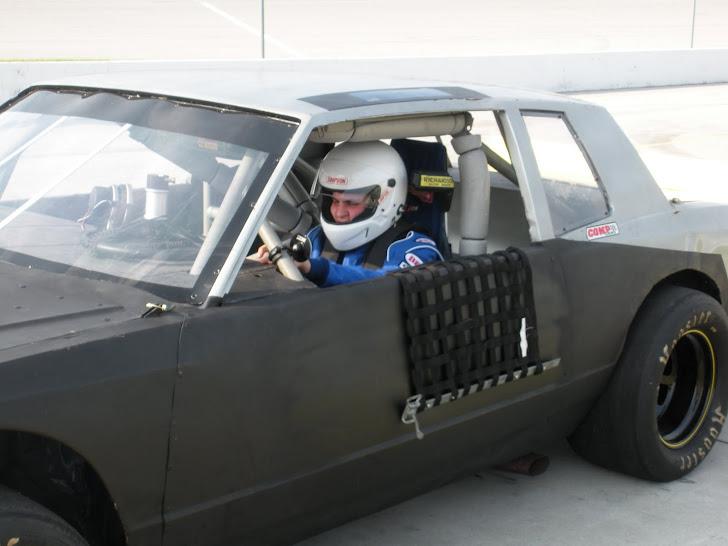 Jonny and his race car