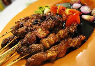 Resep Masakan Sate Ayam Bumbu Pedas