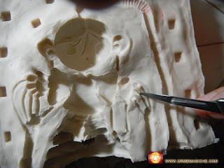 orme magiche modellini statuette sculture scultura action figure fatta a mano prototipazione rapida come fare stampo in gomma siliconica resina liquida da colata tutorial copiare modellini