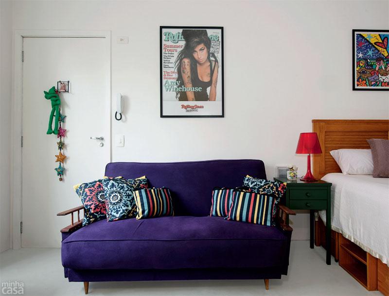 decoracao kitnet jovem : decoracao kitnet jovem:Érica do Vale Interiores: LINDO QUITINETE DE APENAS 28M²