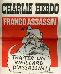 Portada del primer número de Charlie Hebdo, 1970.