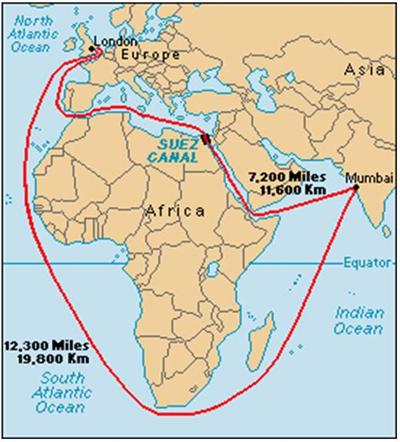 Suez Canal - 1