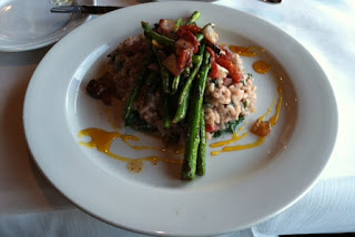 Ocean Boulevard Bistro and Martini Bar dish: Pinot Noir Risotto