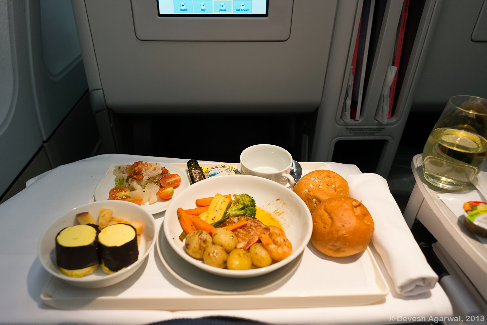 Trip Report Air France A330 200 Business Class Bangalore