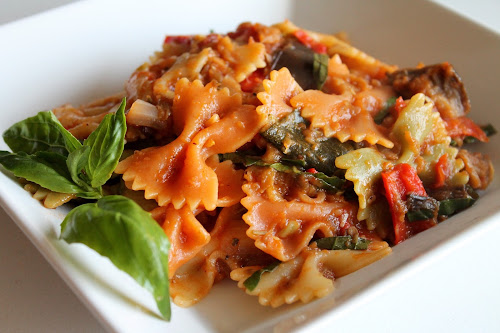 Roasted Ratatouille Pasta