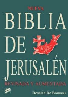 Biblia de Jerusalén.