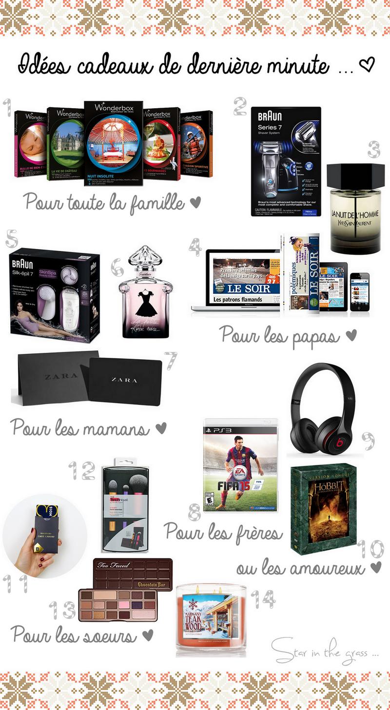 14 idées cadeaux noël de dernière minute pour toute la famille