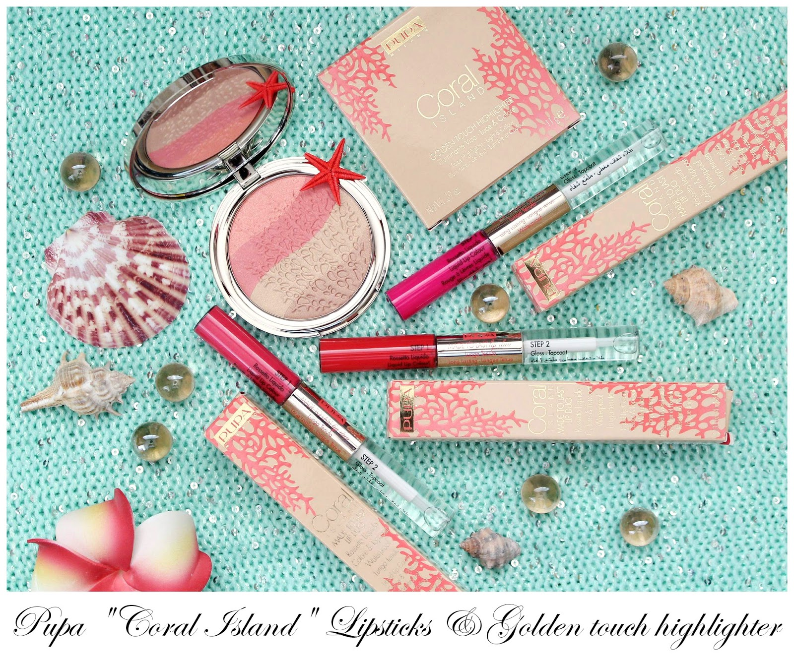 """Pupa Summer limited collection 2015 """"Coral Island"""" part 2 ..."""