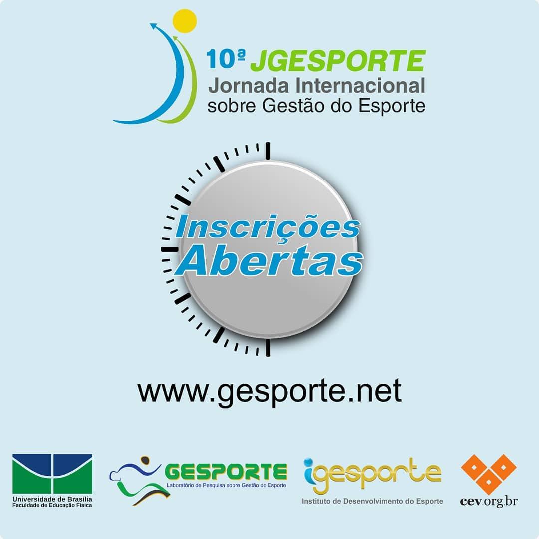 10ª Jornada Internacional sobre Gestão do Esporte - 10ª JGESPORTE