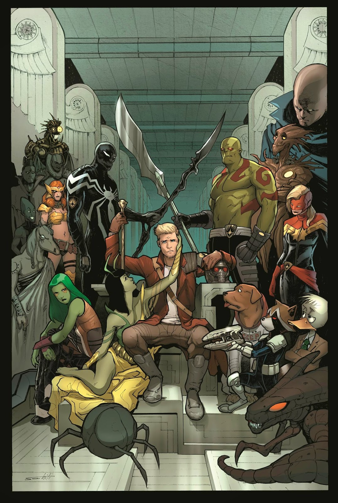 The Guardians homage cover