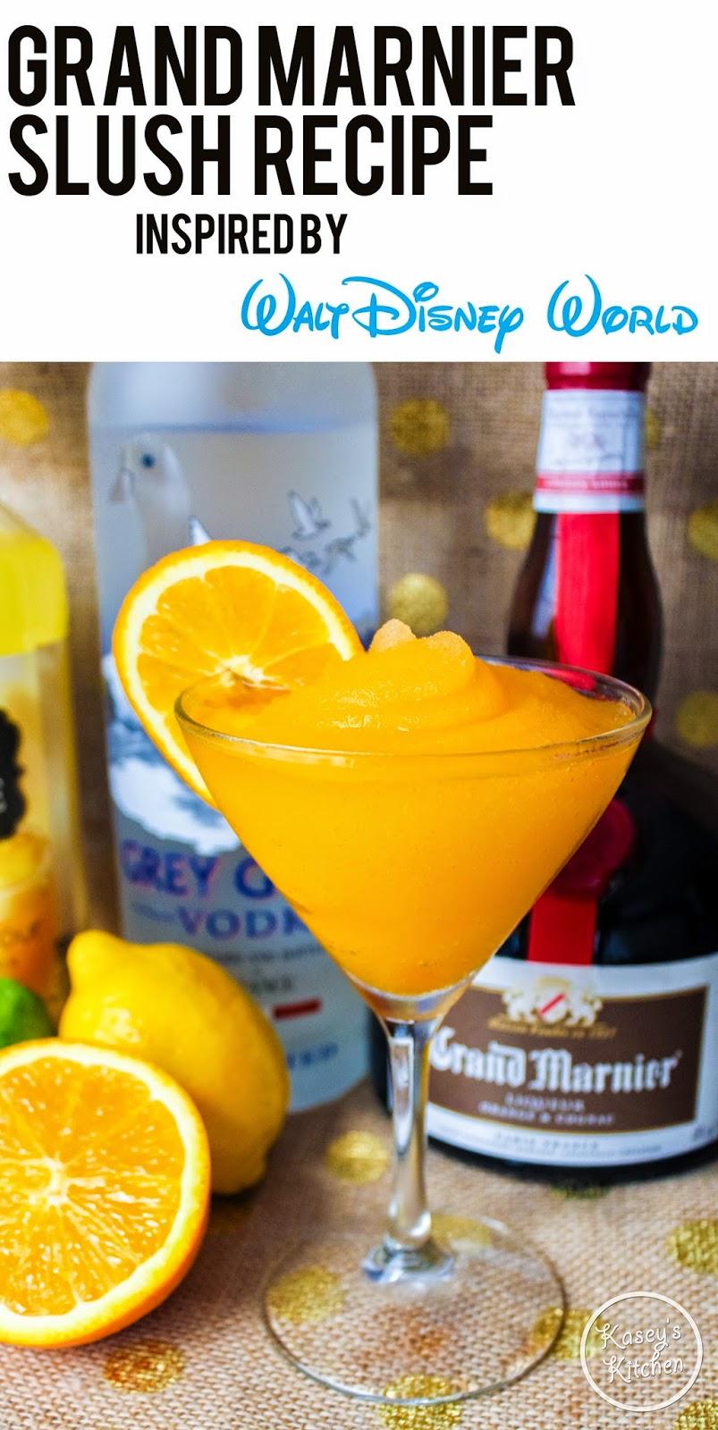WDW Orange Grand Marnier Slush