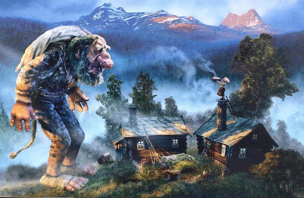 Criaturas fantásticas de la mitología Noruega