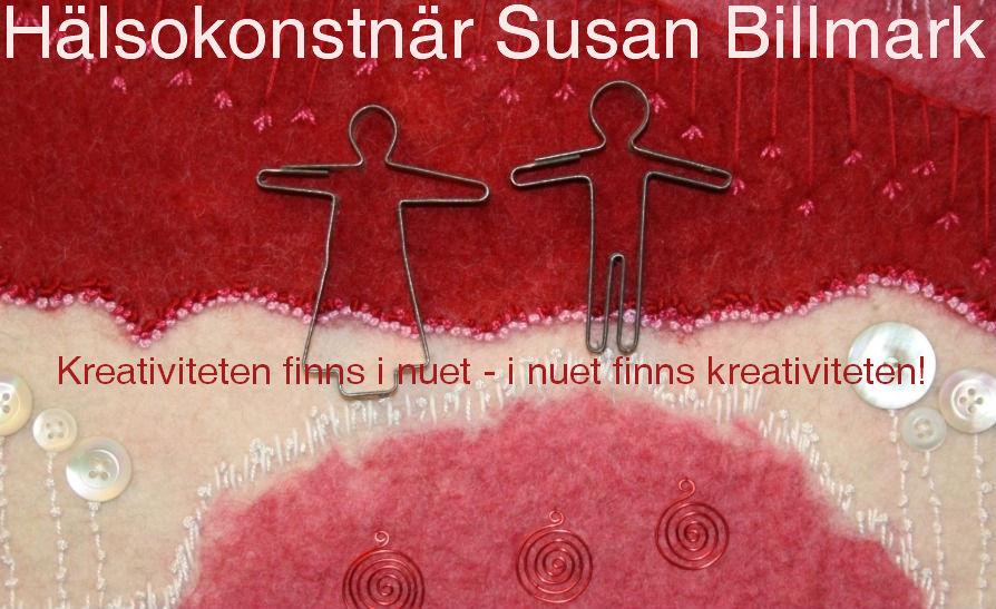 Hälsokonstnär Susan Billmark