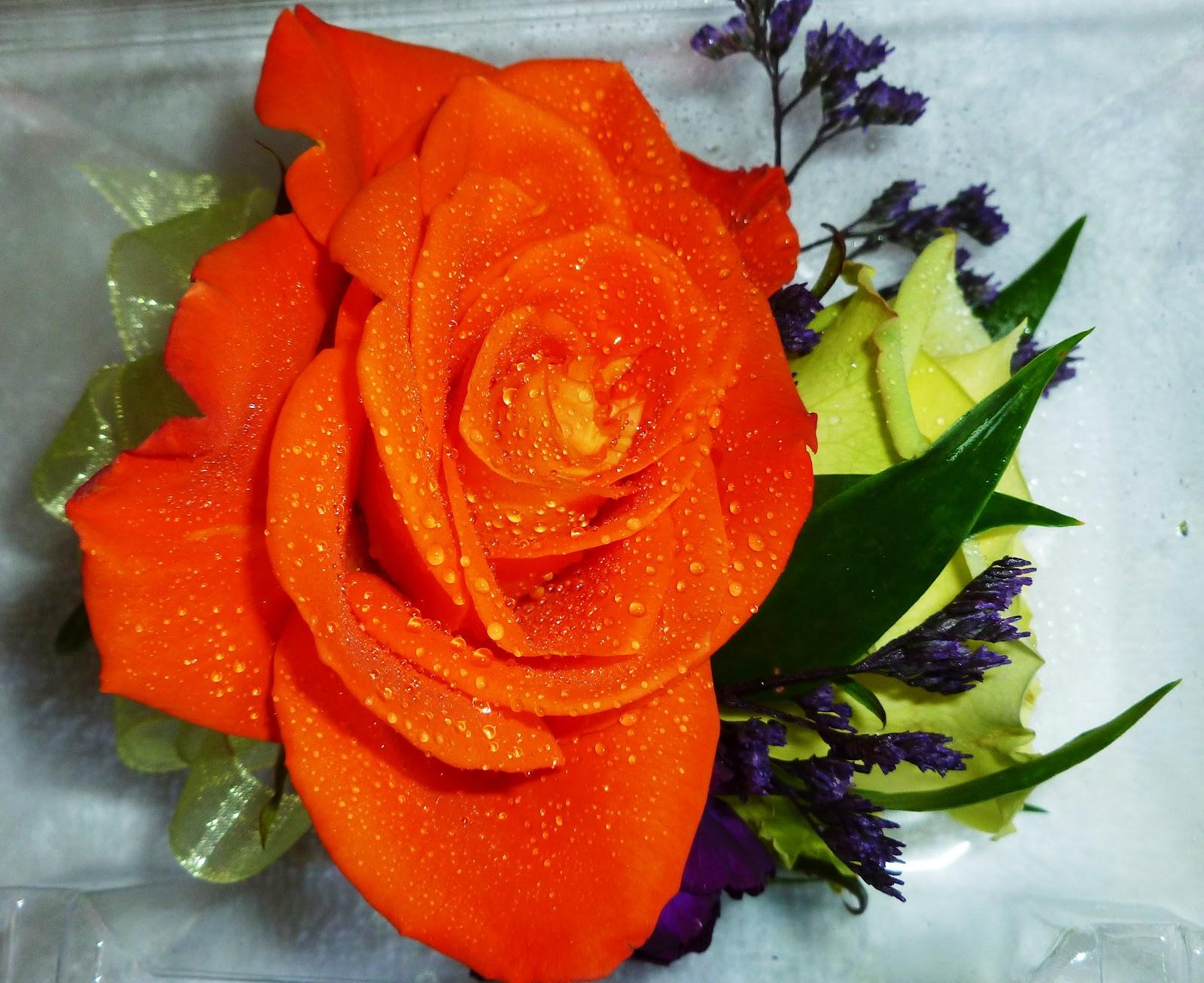 Dark Purple And Orange Wedding Flowers - Viewing Gallery