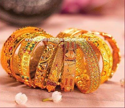 Gold Bangles From Kalyan Jewellers