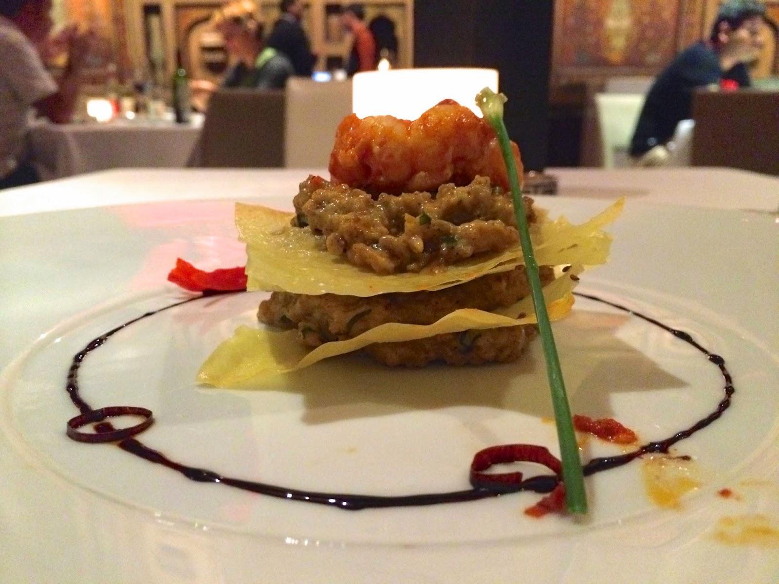 Varqi Crab at Varq Delhi