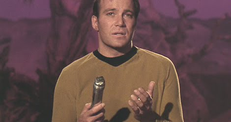 Captain Kirk With Universal Translator