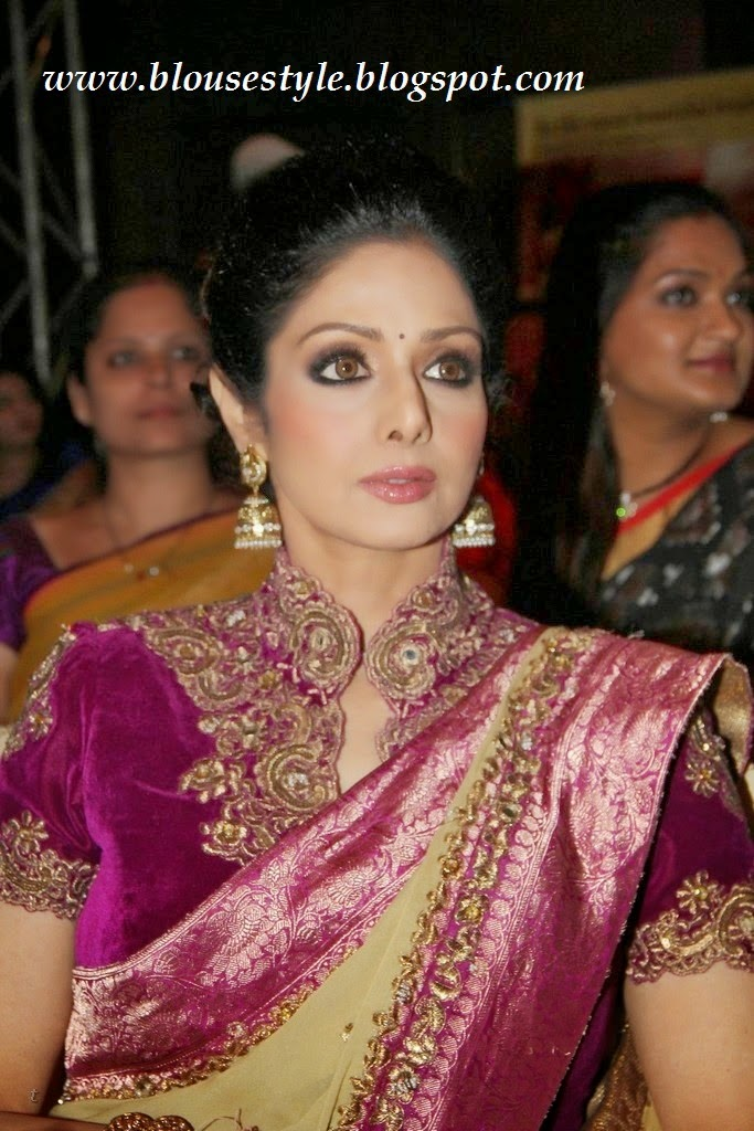 Bollywood actress sridevi saree blouse photos