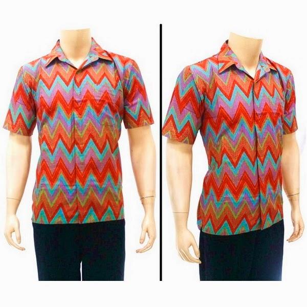 Kemeja Batik Pria motif Rang Rang