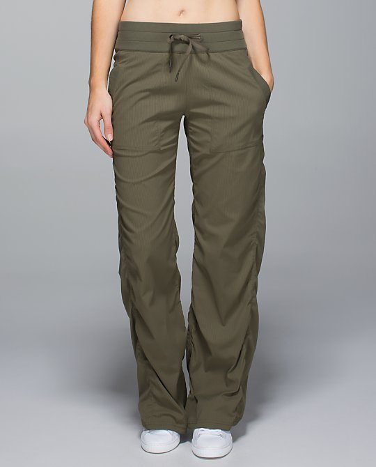 lululemon fatigue studio pants