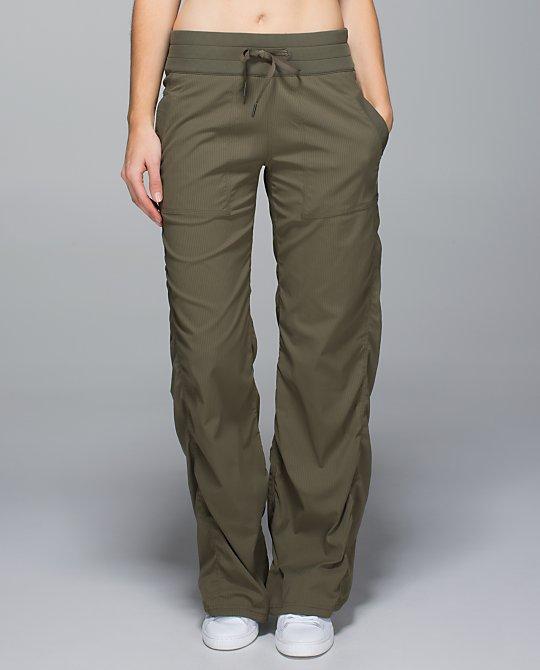 lululemon fatigue studio pants