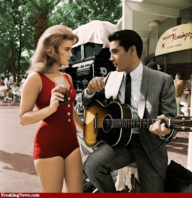 Elvis and Ann-Margret in Viva Las Vegas