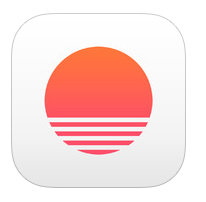 https://itunes.apple.com/us/app/sunrise-calendar-for-google/id599114150?mt=8