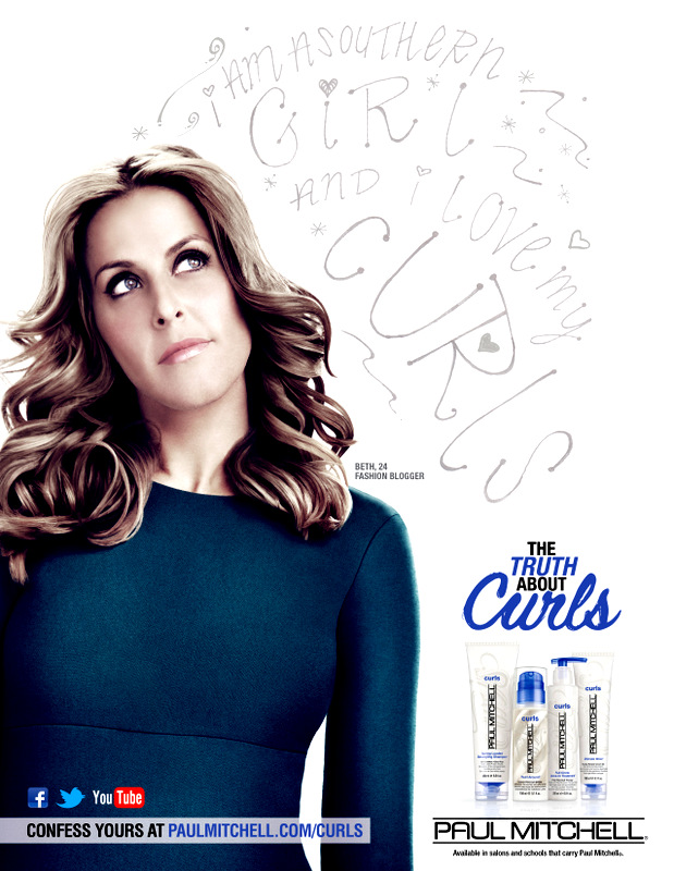 Paul Mitchell Truth About Curls Campaign