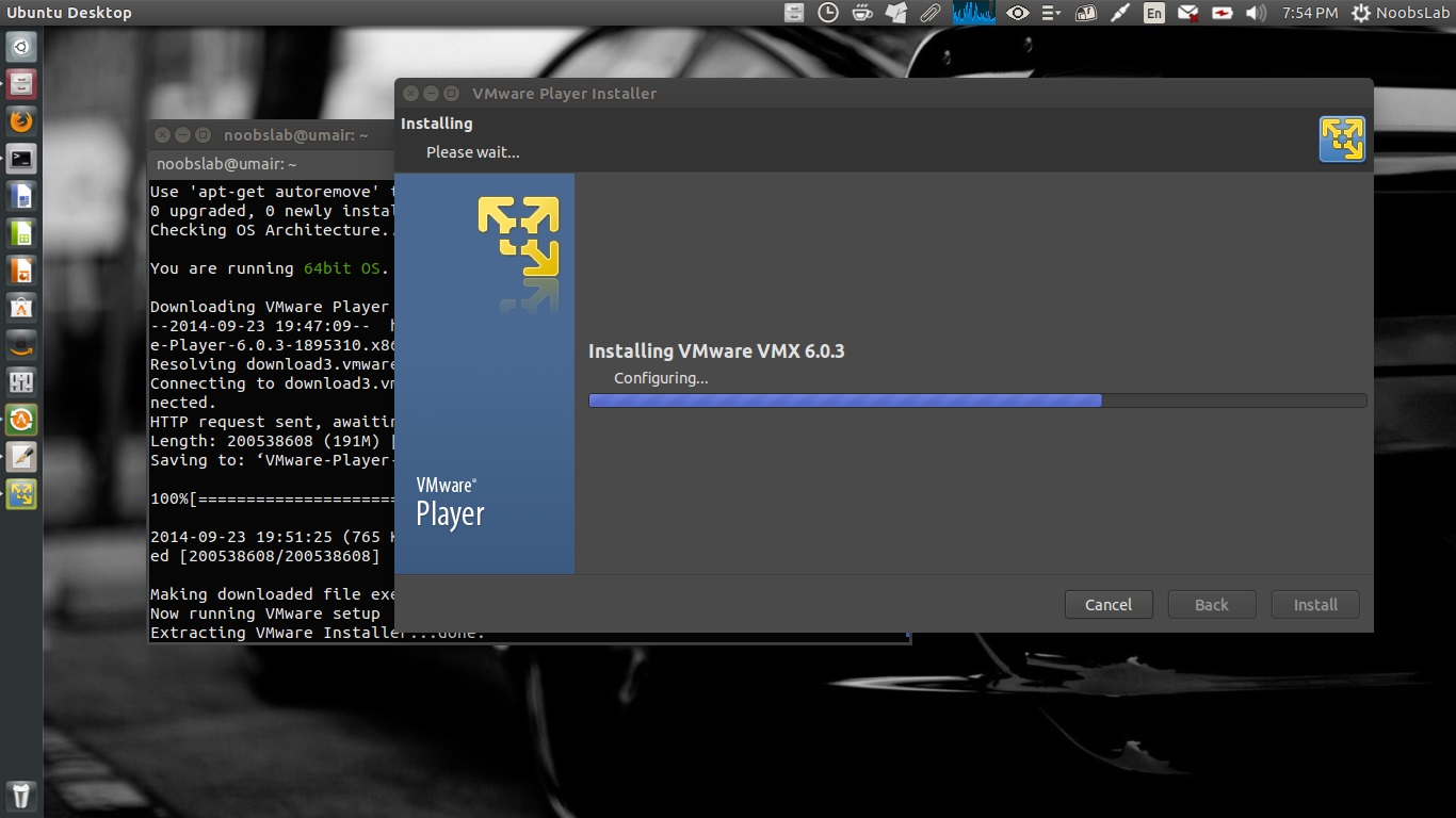 Install Vmware Player Linux Mint 15