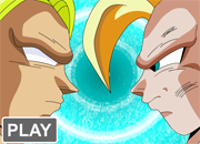 Dragon Ball Z Broly Battle 3