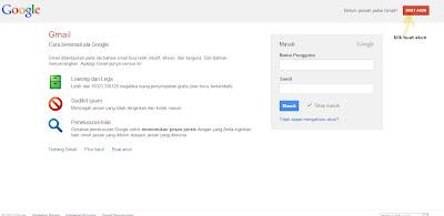 cara buat email gmail